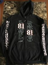 Hells Angels Support 81 Lowell zip up hoodie 2XL 3XL 4XL
