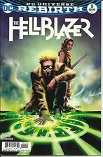 THE HELLBLAZER # 5 VERY FINE PLUS 2017 DC UNIVERSE REBIRTH