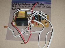 White Westinghouse Bread Machine Parts Power Control Board With Fuse  WWTR444