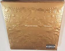 JAY-Z & KANYE WEST WATCH THE THRONE (DELUXE EDITION) (2011) BRAND NEW SEALED CD