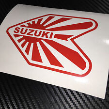 RED Suzuki Wakaba JDM Sticker Decal Drift Import Tuner