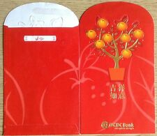 S'pore Ang pow-red packet OCBC 2 pcs new