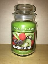 Yankee Candle 22oz 623g Large Jar Kiwi Berries Deerfield VHTF RARE White Label