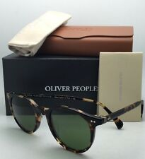 OLIVER PEOPLES Sunglasses DELRAY OV 5314SU 140752 Vintage DTB Tortoise w/ Green