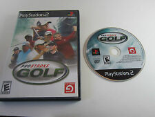 ProStroke Golf: World Tour 2007 - Sony PlayStation 2 PS2 . Game Disc, Case & Art