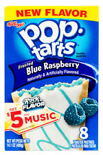 Frosted Blue Raspberry Pop-Tarts