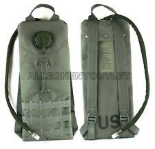 NEW MOLLE 3L / 100oz Storm HYDRATION SYSTEM CARRIER Foliage Green w/ Bladder