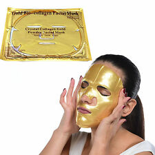 3 X Gold Collagen Face Mask Powder Anti-Aging Anti-Wrinkle Luxury Spa Treatment