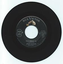 R & B 45  MICKEY & SYLVIA WHAT WOULD I DO  ON RCA  VG ORIGINAL