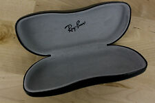 RAY BAN EYEGLASS SUNGLASS BLACK CASE HARD CLAM SHELL