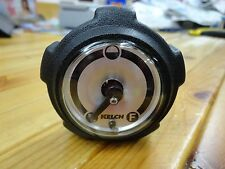 YAMAHA GOLF CART GAS CAP WITH GAUGE FOR G16 + MORE G'S KELCH CORP MADE IN U.S.A.