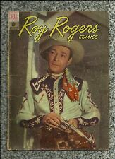 ROY ROGERS COMICS #8 1949 DELL COMICS GOLDEN AGE WESTERN  PHOTO COVER