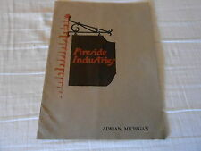 VINTAGE CATALOG #2728 -  1923 FIRESIDE INDUSTRY ( ADRIAN MICHICAN) ART NOVELTIES