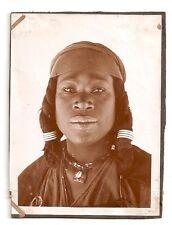 Afrique, Algérie, Beni-Abbes, Sahara, Beauté indigène, Bijoux, 120 x 90 mm, 1930