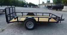 Utility Trailer 5'x10' Dove Tail With Gate
