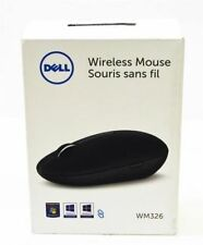New Dell WM326 GGX8M Black Wireless Laser Mouse