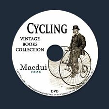 Cycling - Vintage eBooks 49 PDF E-Books on 1 DVD Bicycle Tricycle Repair Pedal