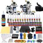 Solong Tattoo Kits 2 Tattoo Machine Guns Set 28 Ink Power Supply CD TK204-17