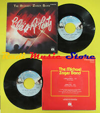 LP 45 7'' THE MICHAEL ZAGER BAND Life's party Using you 1979 france no cd mc dvd