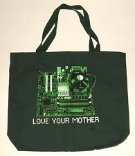 LOVE YOUR MOTHER [BOARD]--Computer Geek I.T. Technology canvas Tote Bag NEW!