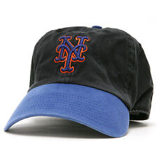 New York Mets '47 Freshman Franchise Fitted Hat - Black/Royal - MLB