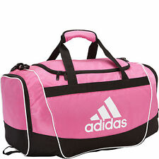 adidas Defender II Training Duffel Bag GYM Fitness Soccer Travel Brand New Pink