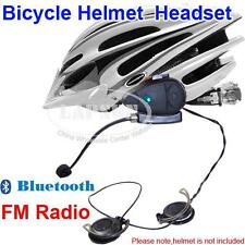 Motorcycle Bicycle Bike Helmet Bluetooth Headsets FM Radio Speakers F MP3 GPS UK