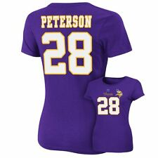 ($48) Minnesota Vikings ADRIAN PETERSON nfl Jersey Shirt Adult WOMENS/LADIES xl