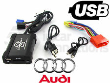 Audi A4 USB adapter interface CTAADUSB003 car AUX SD input MP3 jack 1997 - 2006