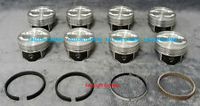 Speed Pro Chevy 5.7/350 VORTEC Hypereutectic Coated Skirt Pistons+MOLY Rings +30