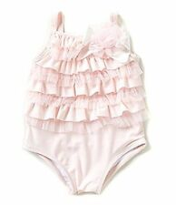 New Pink Lace Edgehill Collection One Piece SwimSuit Infant Girl Size 3-6 Months