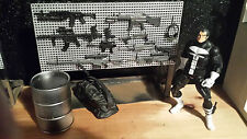 1:12th scale Gun/Sword rack w/adjustable peg hooks - Marvel legends,6 inch scale