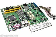 ADVANTECH DVMB-766 REV.A1 MOTHERBOARD SYSTEM MAIN BOARD +IO &DB9 PLATE *Tested!