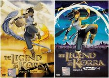 Avatar: The Legend Of Korra (Season 3 + 4) Chapter 1- 26 END DVD English Version