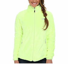 New Womens Ladies The North Face Fleece Full Zip Jacket Osito Rave Green Small