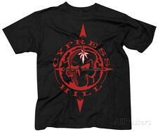 Cypress Hill- Skull & Compass Apparel T-Shirt XL - Black