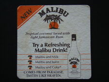 NEW MALIBU TROPICAL COCONUT LACED WITH LIGHT JAMAICAN RUM COASTER
