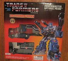 Transformers G1 Commemorative Series II Powermaster Optimus Prime w Apex *SEALED
