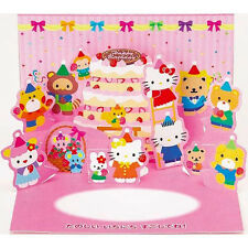 Hello Kitty Birthday Party Pop Up Greeting Card / Birthday Gift