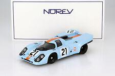Porsche 917K #21 Gulf 24h LeMans 1970 Rodriguez, Kinnunen 1:18 Norev