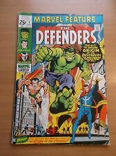 MARVEL FEATURE #1, 1ST APP & ORIGIN OF THE DEFENDERS, NETFLIX, KEY, HOT, 1971!!!