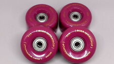 4 x ALIEN WORKSHOP Wheels 60mmx85A -COMPLETE SET+BEARINGS-SKATEBOARD-LONGBOARD