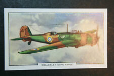 Vickers Armstrong Wellesley  RAF Bomber  Original  Vintage Card   VGC