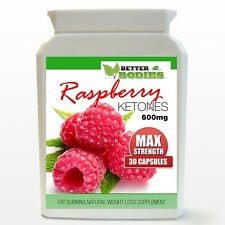 30 RASPBERRY KETONE CAPSULES MAX HIGH STRENGTH 600MG DIET BOTTLE MONTH SUPPLY nl