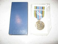 Armed Forces Expeditionary Service Medal Set Ribbon Medal Sealed US Army