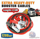 2.3M 1200AMP HEAVY DUTY BATTERY JUMP START STARTER BOOSTER LEADS CABLES CAR