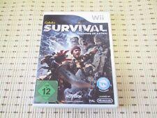 Cabela´s Survival Shadows of Katmai für Nintendo Wii und Wii U *OVP*