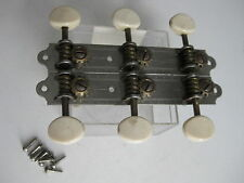 Vintage Airborne Dobro Regal Waverly Engraved Guitar Tuners for Project Repair
