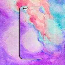 Watercolor Rubber Soft TPU Silicone Back Case Cover for Apple iPhone 5 6 6s Plus