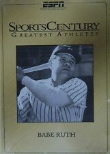 BABE RUTH ESPN SportsCentury Greatest Athletes NY Yankees 8 Featurettes SEALED